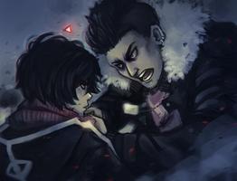 Confrontation by DamaiMikaz