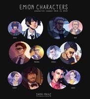 Character change 2018 by DamaiMikaz