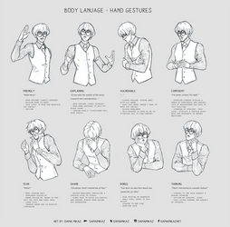 Body Language - Hand gestures