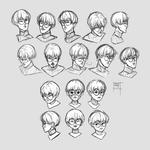 Sketchdump September 2019 [Facial expressions]