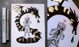 Inktober 2019 - #12 Dragon