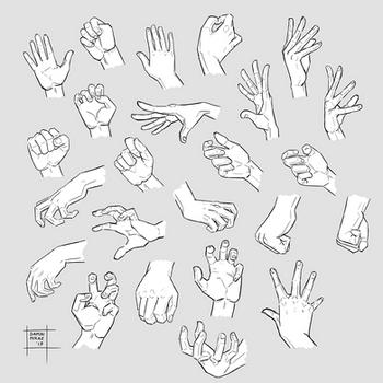 Sketchdump October 2019 [Hands]
