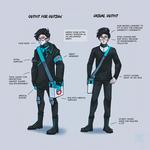 Characters - Teen Moriz