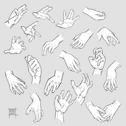 Sketchdump April 2020 [Hands]