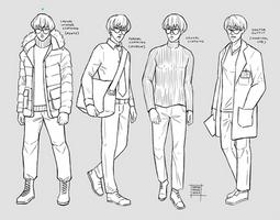 Sketchdump May 2020 [Outfits]