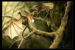 Draconis Lupine by SBGothik