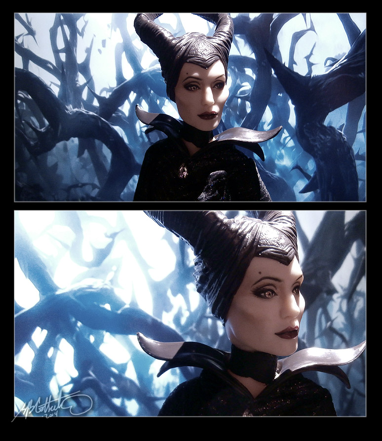 repainted maleficent and prince - photo #20