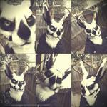 Morrow Jackalope Fursuit Mask