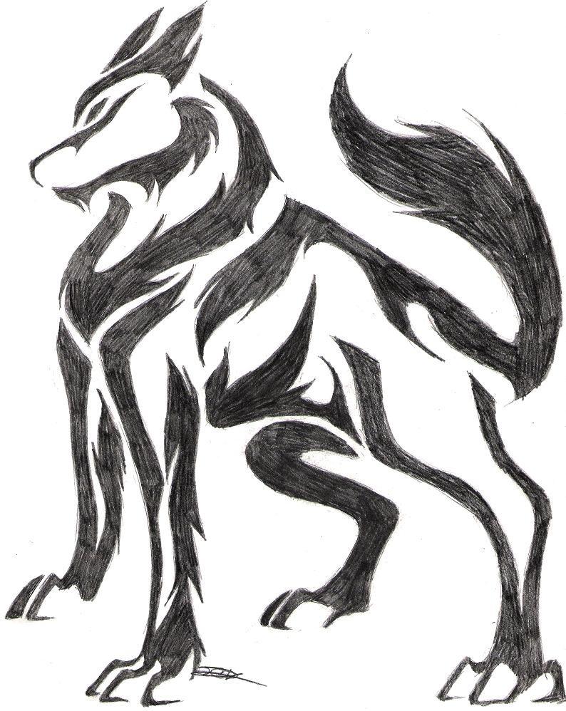 my favorite wolf i have drawn so far. by Shreddingshadow on DeviantArt
