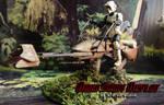 Star Wars Speeder Bike 6
