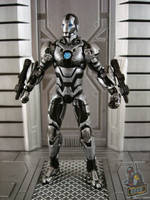 Marvel Universe War Machine 2.0 custom figure by starwarsgeekdotnet