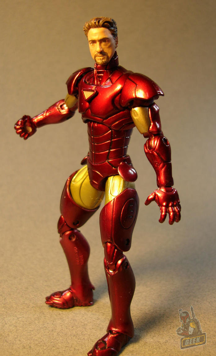 Tony Stark/Iron Man custom action figure by ...