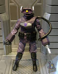 GI Joe/Transformers crossover Shockwave figure