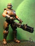 Gears of War Cog Soldier custom figure by starwarsgeekdotnet