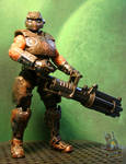 Gears of War Cog Soldier custom figure by starwarsgeekdotnet