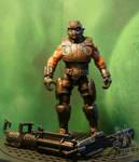 Gears of War Cog Soldier custom figure