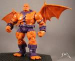 Marvel Universe custom Gargoyle action figure by starwarsgeekdotnet
