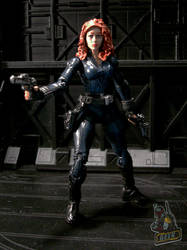 Avengers' Black Widow custom figure by starwarsgeekdotnet