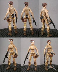 GI Joe Fennec Desert Fox custom action figure by starwarsgeekdotnet