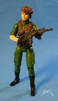 Custom GI Joe Lady Jaye 3.75 action figure