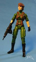 Custom GI Joe Lady Jaye 3.75 action figure by starwarsgeekdotnet