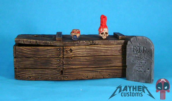 VooDoo Priest custom action figure accessories