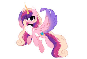 Princess Cadance by little-pancakes