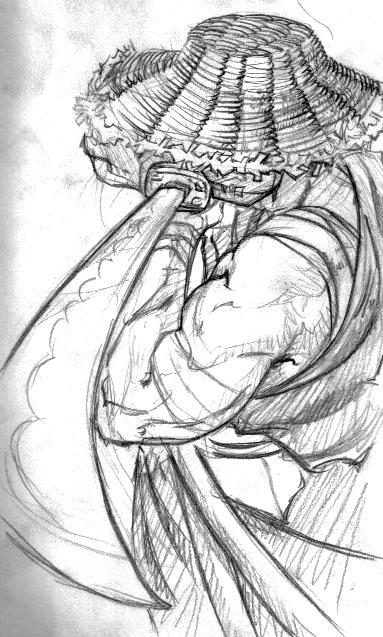 Gallery For gt Samurai Demon Mask Sketch