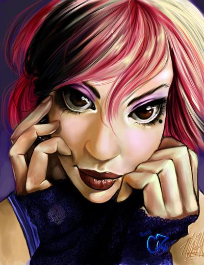 Vivka's Portrait