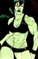 She Hulk by BiggCaZ