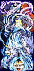 The Digivolution of Tsunomon by BiggCaZ