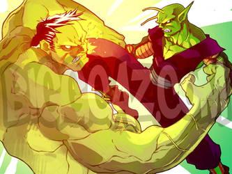 Piccolo vs. Hulk