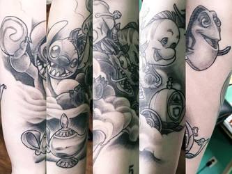Disney Medley Tattoo