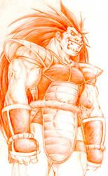 Sayajin Warrior Raditz by BiggCaZ