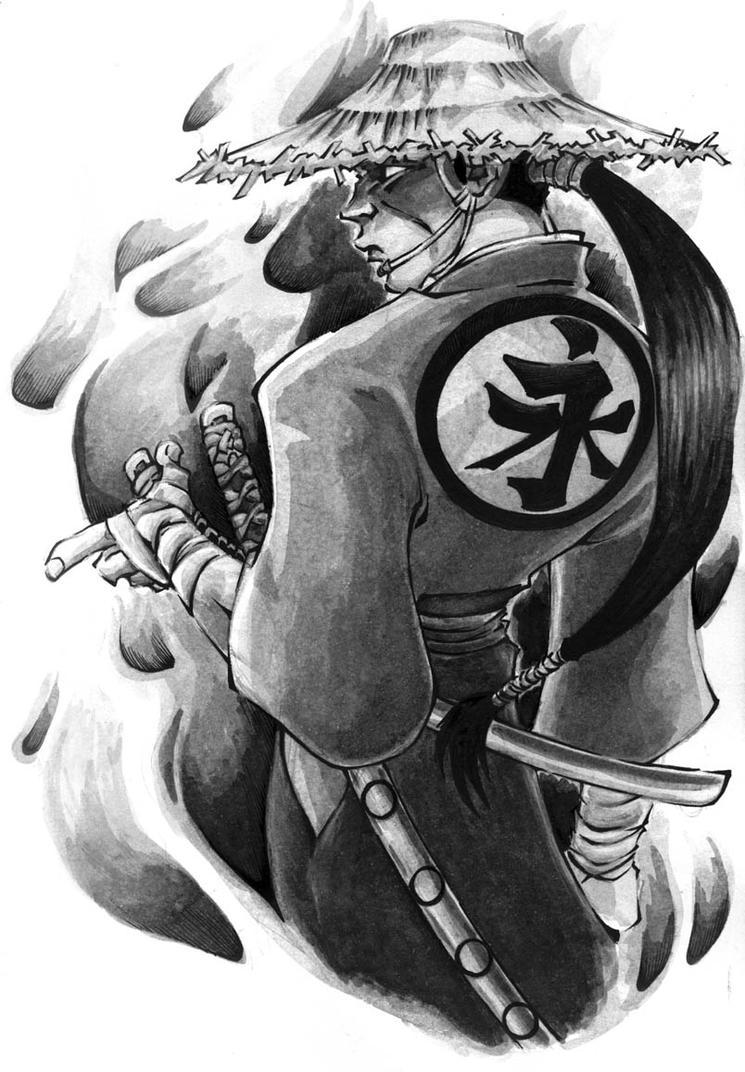 37eb8e76e08d6 Japanese Samurai Tattoo Designs Gallery   zentrader