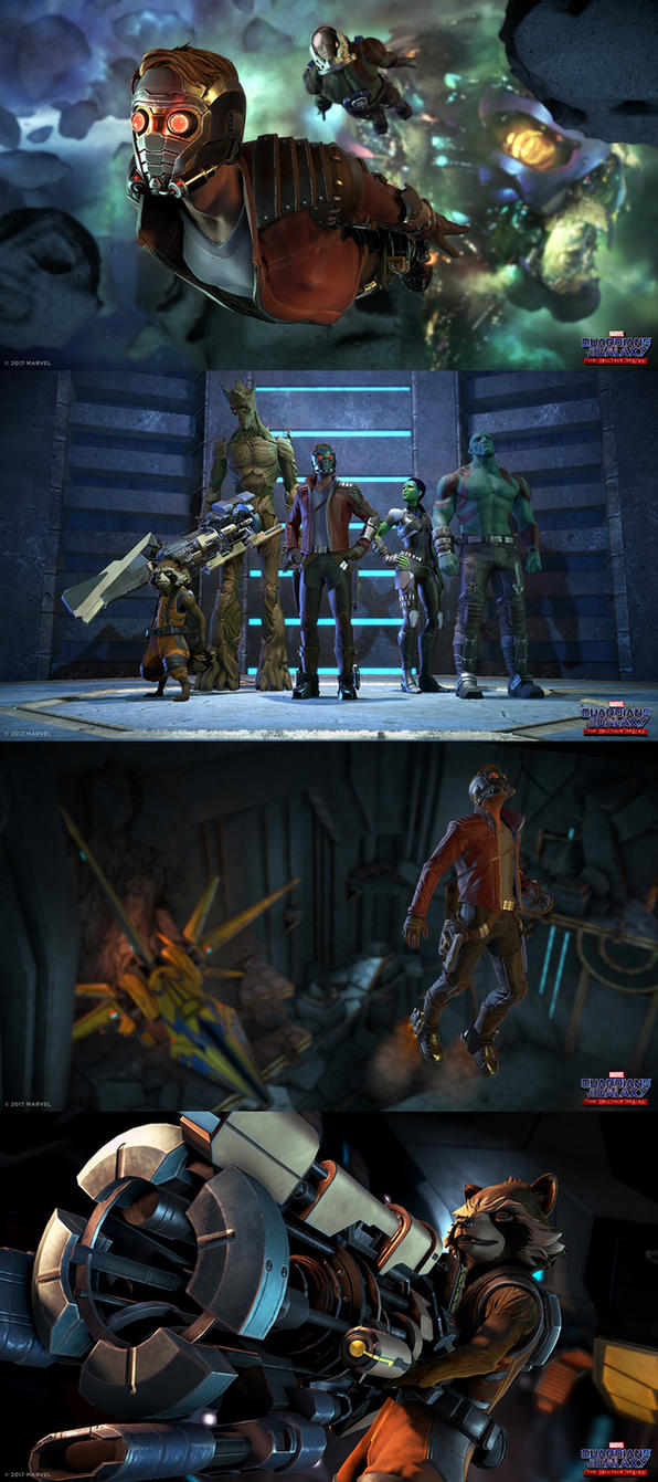 Guardians of the Galaxy: The Telltale Series by rmohr