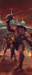 John Carter of Mars - Synthetic Men by rmohr