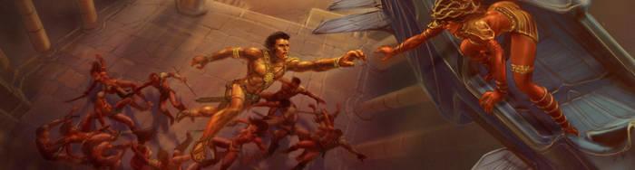 John Carter of Mars - Jump Escape by rmohr