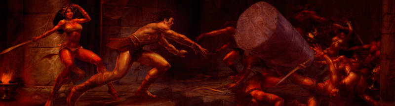 John Carter of Mars - Pillar Throw by rmohr