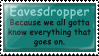 Stamp: Eavesdropper by Bampire