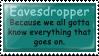 Stamp: Eavesdropper by Bampire