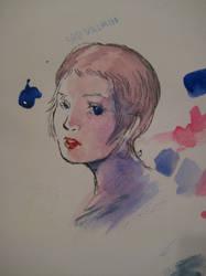 watercolor practice by Quelaag