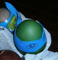 Teenage Mutant Ninja Egg by Lola22