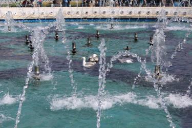Sultan Ahmad Maydan Fountain: detail by Lola22