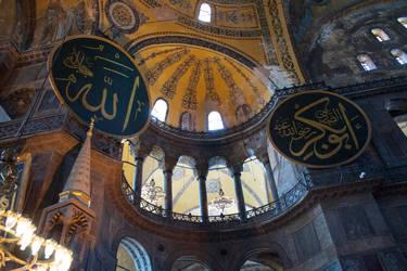 Hagia Sophia interior by Lola22