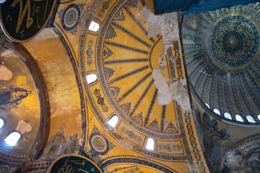 Hagia Sophia ceiling by Lola22