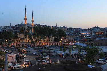 Istanbul evening by Lola22