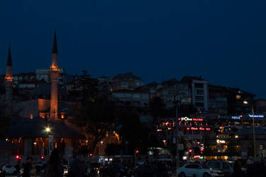Istanbul nightfall by Lola22
