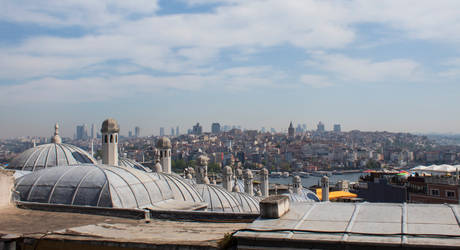 Istanbul roofs by Lola22