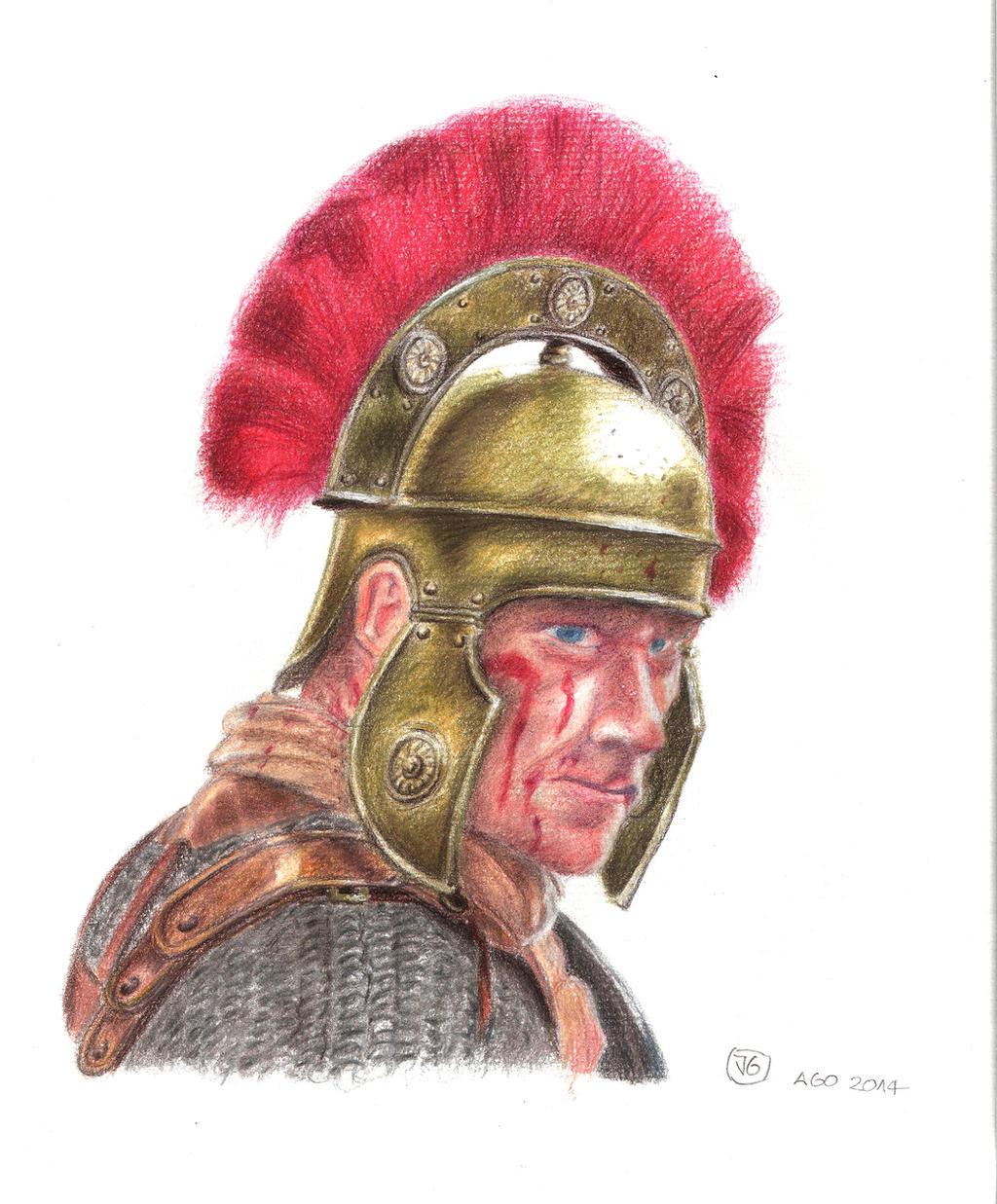 Caesarians Pullo and Vorenus, Heroes of Rome - Warlord Games